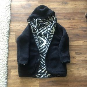 Urban outfitters fuzzy reversible jacket
